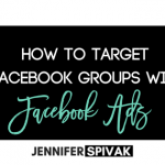How to target GROUPS with Facebook Ads… (bet ya didn't know about this one!)
