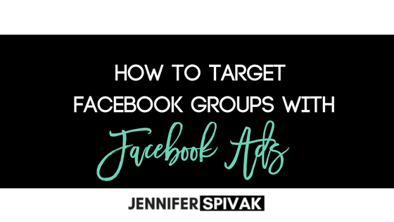 How to target GROUPS with Facebook Ads    (bet ya didn't